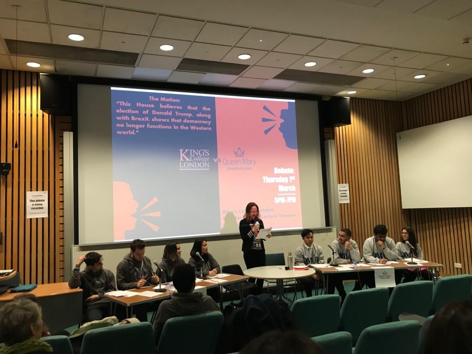 KCL QM Debate 1 March 2018 1
