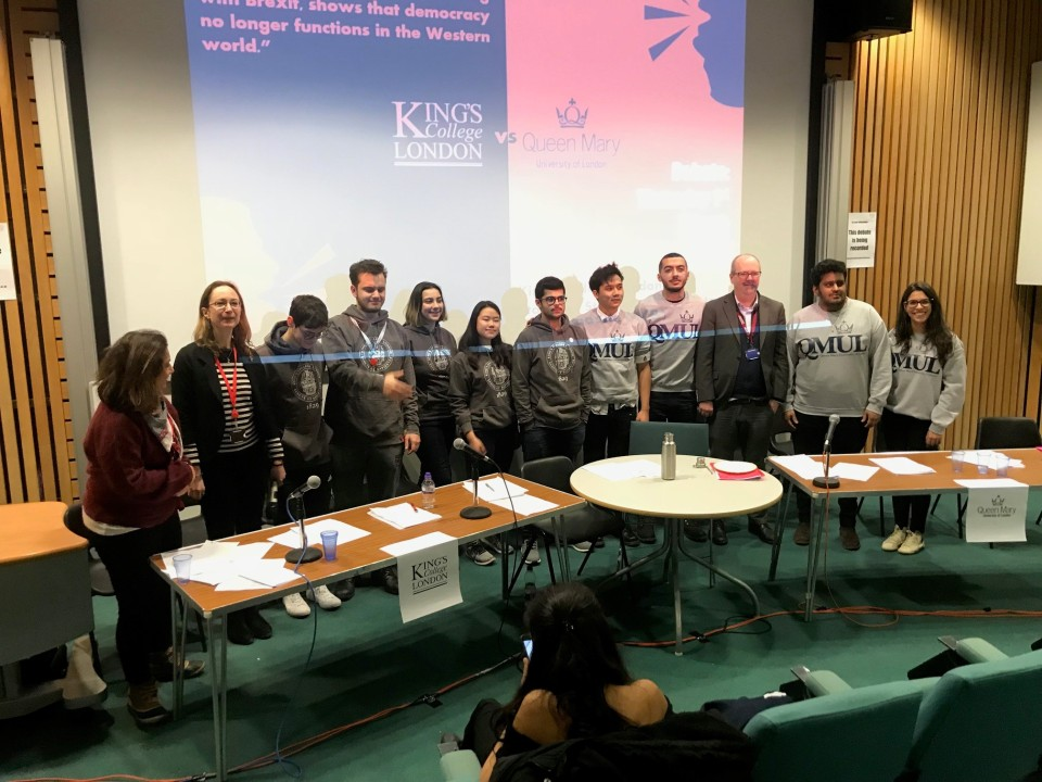 KCL QM Debate 1 March 2018 2